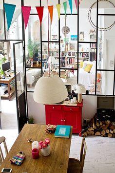 Glass Wall | Paris 11ème | Inside Closet