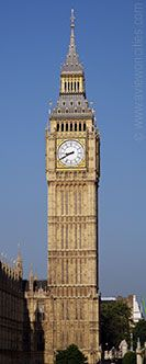 Big Ben in the tower formerly known as St. Stephen's Tower