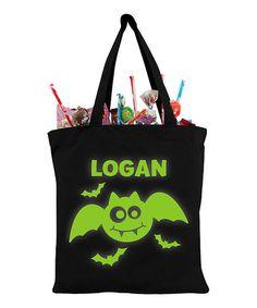 Another great find on #zulily! Batty Bat Glow In The Dark Personalized Treat Bag #zulilyfinds