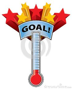 fundraising goal charts goals i guess however that is the secret rh pinterest com