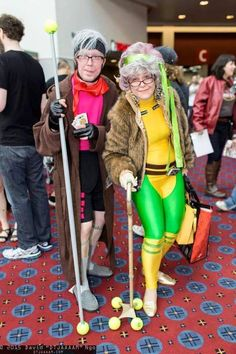 You are NEVER too old to cosplay.