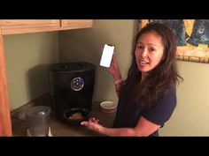 (22) Veterinary review of the Feeder Robot automatic pet feeder - YouTube