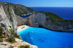 Zakynthos and Kefallonia « Sunshine Holidays One of the best holidays ever ! Negril Jamaica, Amazing Destinations, Holiday Destinations, Sunshine Holidays, Zakynthos Greece, All Airlines, Famous Beaches, Shipwreck, Mykonos