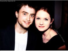 Dan Radcliffe and Bonnie Wright