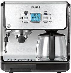 Special Offers - KRUPS XP2070 Programmable 10-Cup Coffeemaker/15-Bar Pump Espresso Machine - In stock & Free Shipping. You can save more money! Check It (April 19 2016 at 11:26PM) >> http://foodprocessorusa.net/krups-xp2070-programmable-10-cup-coffeemaker15-bar-pump-espresso-machine/
