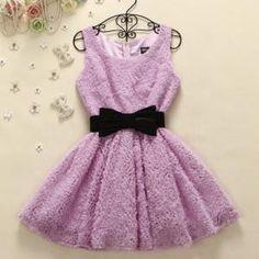 Slim wild bow dress DG61421