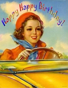 Happy Happy Birthday! vintage