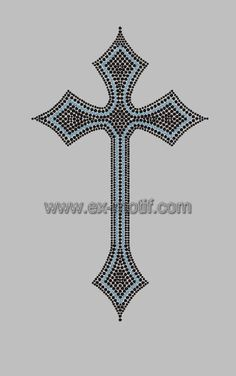 Hot Fix Motif Celtic Cross Design - Buy Hot Fix Motif 3ee29c7b4617