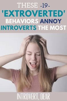 "I invited the introverts who follow me to share which ""extroverted"" behaviors irritate them the most — here's what they told me. The good news: If you can relate, you're not alone! #introvert #introverts #extrovert #behavior #irritated Am I An Introvert, Extroverted Introvert, Introvert Problems, Mental And Emotional Health, Infj Personality, Because I Love You, Istj, Psychology Facts, Annoyed"