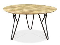 Jinya Industrial Mango Wood Coffee Table from Venoor Living -  Vênoor Living