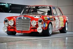 """Mercedes Benz 300 SEL AMG """"the red pig"""" 24h Spa 1971"""