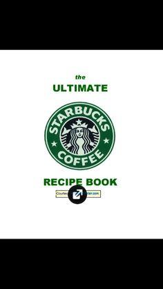 I Found The ENTIRE Starbucks Menu. 31 Pages Or Recipes#Recipes#Trusper#Tip