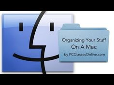▶ Organizing Your Stuff On A Mac - YouTube  n this tutorial we show you how to organize your files, folders, music, photos, emails, and contacts on a Mac. This is a perfect class for anyone who just purchased their first Mac.