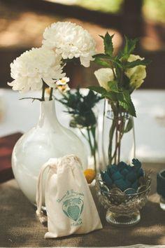 teal white decor