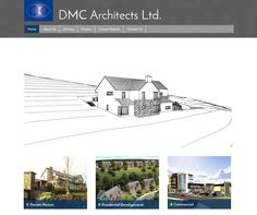 This is a sneaky preview of the in progress website for DMC Architects Ltd. Website. Feedback welcome...