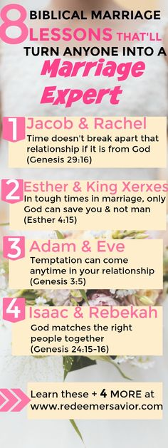 8 Biblical Marriage Lessons | Biblical Marriage | Scriptural Inspiration | Bible Truths