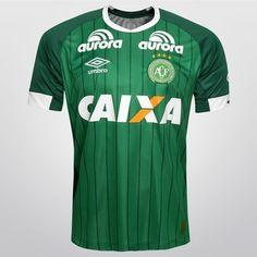 Camisa Umbro Chapecoense I 2015 nº 10 - Verde+Branco