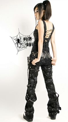 Women Pants,Gothic Pants,Punk Pants,Broken Mesh Pants enjoy your women pants shopping at punkrave shop now! Dark Fashion, Emo Fashion, Gothic Fashion, Fashion Outfits, Harajuku Fashion, Visual Kei, Punk Rave, Punk Goth, Style Emo