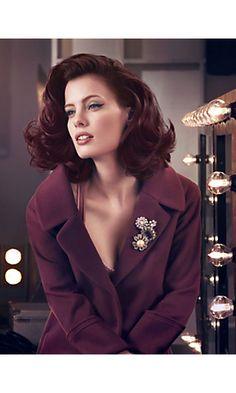 Beautiful!! I'm loving this hair color, and obsessed with this color palette in general for this fall season. <3 ;)