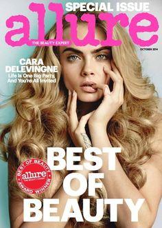 Cara Delevingne - Allure Magazine Cover [United States] (October 2014)
