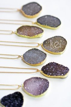 DRUZY necklace | kei jewelry