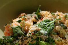 Τα υγιεινά: Φαγόπυρο με σπανάκι και γαρίδες   Κουζίνα   Bostanistas.gr : Ιστορίες για να τρεφόμαστε διαφορετικά