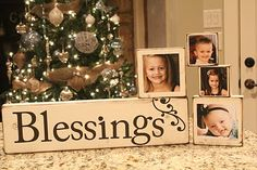 blessing blocks with photos