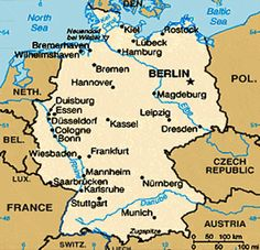 mapa de alemanha - Pesquisa do Google
