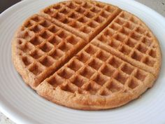 Our absolute favorite recipe for Grain-Free Waffles. We've done things like add a ripe banana, apple sauce, sometimes nut butter, etc. They all work great! We use a real sweetener, such as maple syrup. | fastPaleo Primal and Paleo Diet Recipes