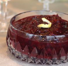 Cranberry & Dried Cherry Relish