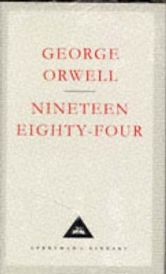 One man's imaginings of what the future holds, a bit scary but in fact some small parts of it aren't all that far from reality nowadays!  It's also where the Big Brother concept originally comes from.  George Orwell is possibly one of the cleverest authors of all time!  Check out Animal Farm too.