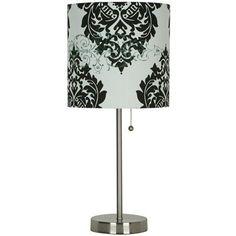Xhilaration Stick Lamp - Damask Target