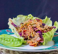 fried cabbage & apple salad