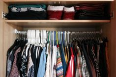 Why decluttering your wardrobe can give you more time