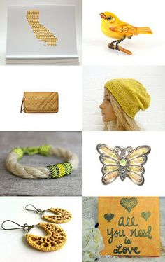 California Love - 10% Off All Featured Shops! by Shelly on Etsy--Pinned with TreasuryPin.com