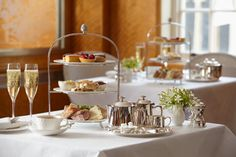 Afternoon Tea at the Belmont Room, York | 6-8 St. Helen's Square York YO1 8QP  Telephone: +44 (0)1904 659142