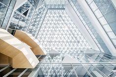 The blurring of interior and exterior boundaries ——Shanghai Baoye Centre Interior Design | LYCS Architecture; Photo: WU Qingshan, He Lian, Su Shengliang | Archinect