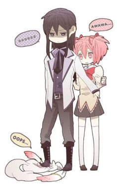 Male Madoka magica x reader cp 1 by Readerxforeveryone on DeviantArt