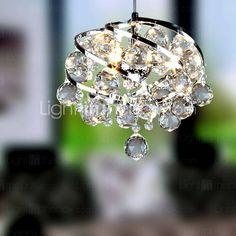 REINHEIM - Lustre Contemporâneo Cristal
