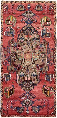 Red 3 x 2 Koliaei Persian Runner Rug Rugs On Carpet, Carpets, Magic Carpet, Textile Patterns, Persian Rug, Floor Rugs, Bohemian Rug, Boho, Rug Runner