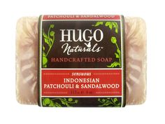 Hugo and Debra Naturals Handcrafted Soap, Indonesian Patchouli and Sandalwood, 4-Ounce *** Don't get left behind, see this great  product : Natural Beauty Care