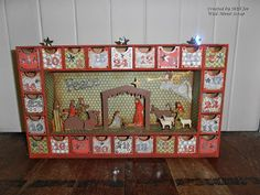 Dusty Attic Advent Calendar - made by Shell for Wild About Scrap