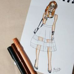 @fashioncoolture 🖋❤🌸 #draw #drawing #fashion #love #fashioncoolture #fashionIllustration #Illustration #croqui #inlove #art #lookoftheday #lookdodia #designdemoda #fashiondesign #moda #blackandwhite #fashion4arts #desenhando #desenho #handmade