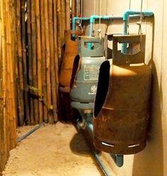 Propane Tank Toilets