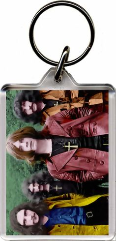 Plastic Key Ring. Size (Approx): 3 x 2 inches (8 x 5 cm). Black Sabbath, Key Rings, Plastic, Products, Key Holder Job, Key Chains, Beauty Products, Keychains