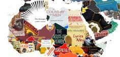 La vuelta al mundo en 144 libros: un mapamundi hecho con portadas | Verne EL PAÍS