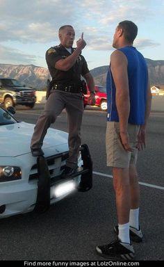 Small cop...
