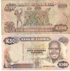 Bank of Zambia - K500 500 Kwacha