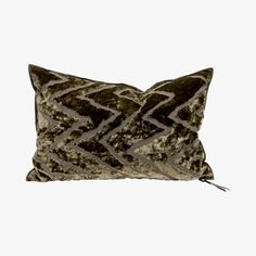 Coussin Vice Versa Cushion, Kaki - MAISON DE VACANCES - Find this product on Bon Marché website - Le Bon Marché Rive Gauche