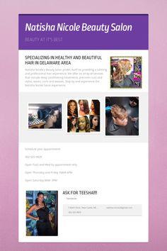 Help spread the word about Natisha Nicole Beauty Salon. Please share! :)